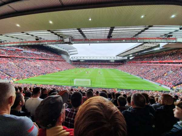 Anfield, section: 205, row: 41, seat: 89