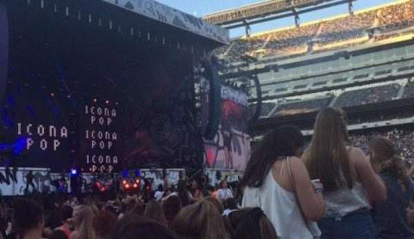 MetLife Stadium, section: Floor 5, row: 26