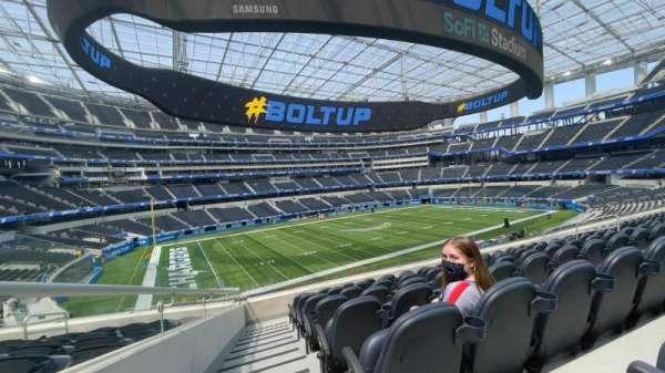 SoFi Stadium, section: C242, row: 5, seat: 16