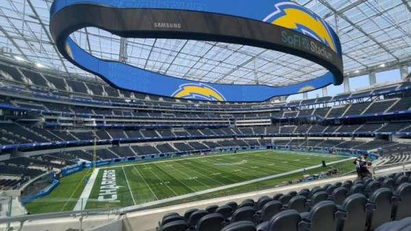 SoFi Stadium, section: C242, row: 5, seat: 15