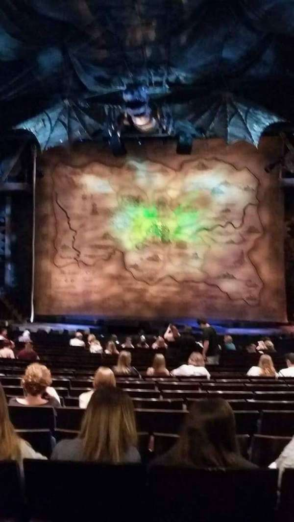 Gershwin Theatre, section: Orchestra C, row: Q, seat: 115