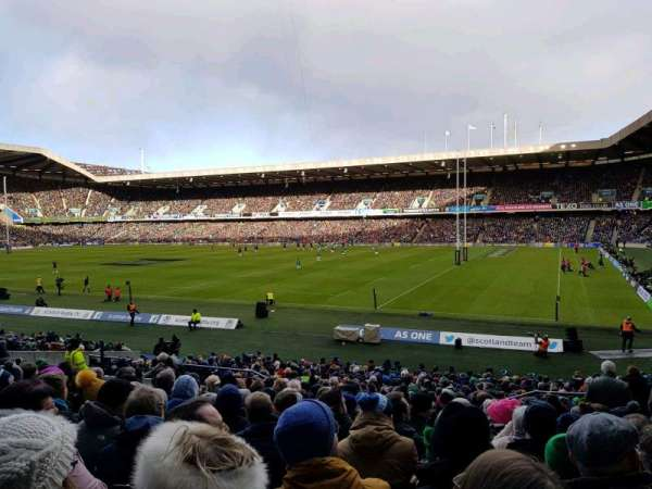 Murrayfield Stadium, section: West 5, row: BB, seat: 35