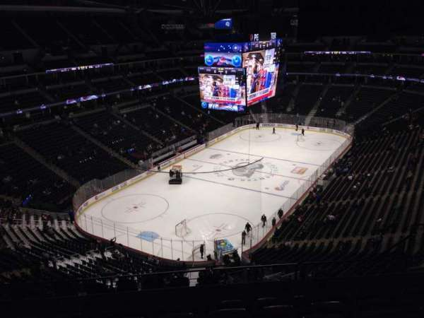 Pepsi Center, section: 358, row: 11, seat: 9
