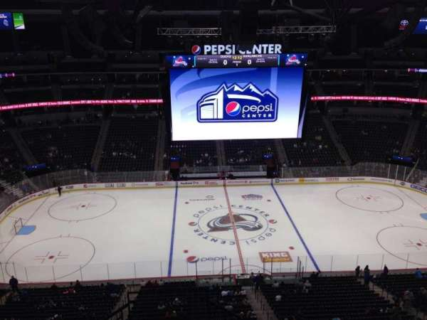 Pepsi Center, section: 344, row: 10, seat: 1
