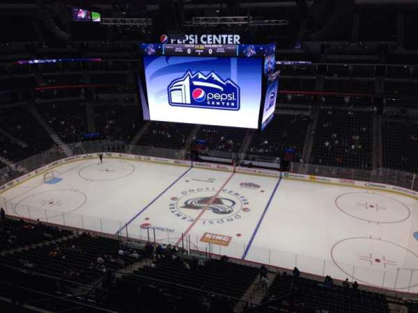 Pepsi Center, section: 340, row: 10, seat: 1