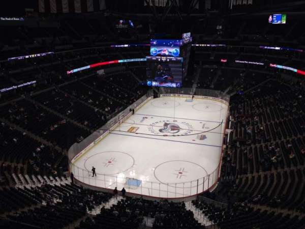 Pepsi Center, section: 320, row: 10, seat: 1