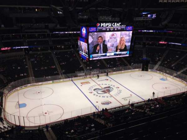 Pepsi Center, section: 308, row: 10, seat: 1