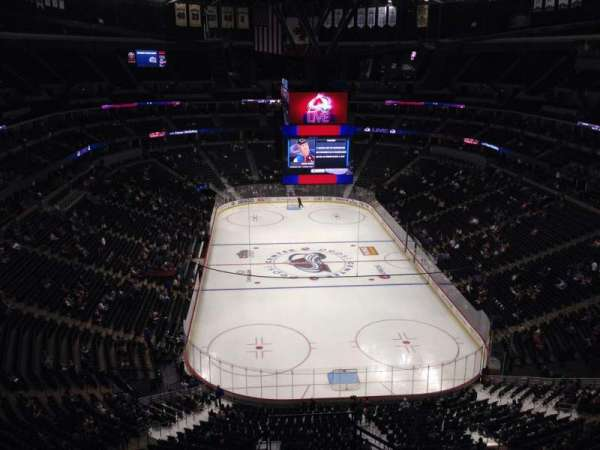 Pepsi Center, section: 364, row: 10, seat: 1