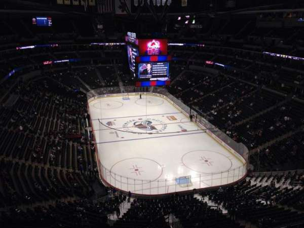 Pepsi Center, section: 366, row: 10, seat: 1