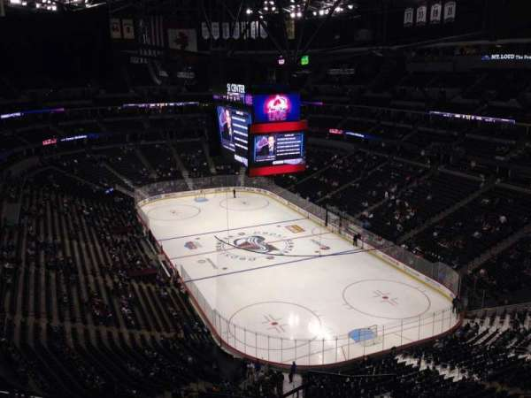 Pepsi Center, section: 368, row: 10, seat: 1