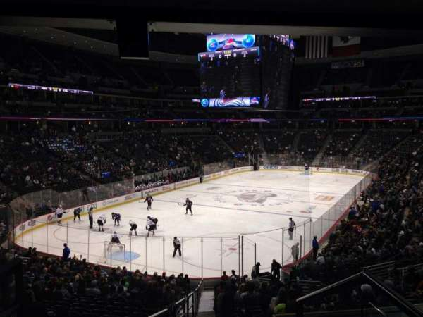 Pepsi Center, section: 132, row: 20, seat: 1