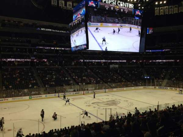 Pepsi Center, section: 104, row: 20, seat: 1