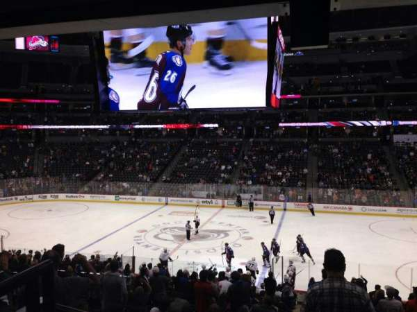 Pepsi Center, section: 146, row: 20, seat: 1