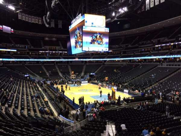 Pepsi Center, section: 116, row: 22, seat: 18