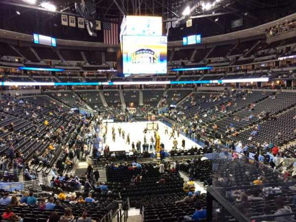 Pepsi Center, section: 138, row: 22, seat: 12
