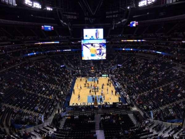 Pepsi Center, section: 321, row: 3, seat: 9