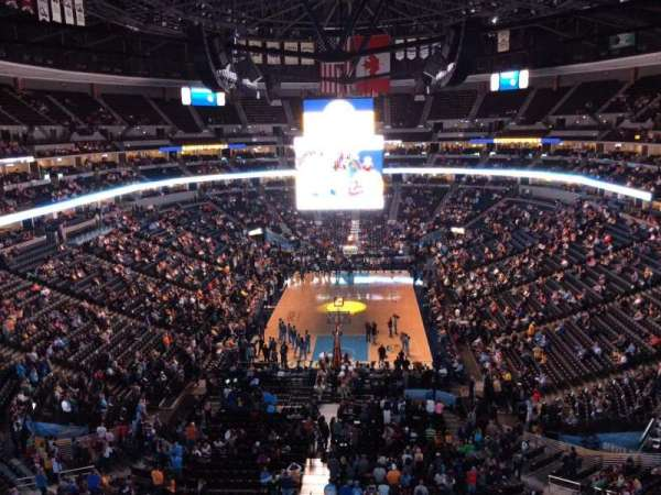 Pepsi Center, section: 361, row: 3, seat: 1