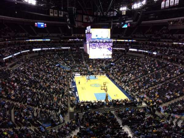 Pepsi Center, section: 364, row: 4, seat: 10