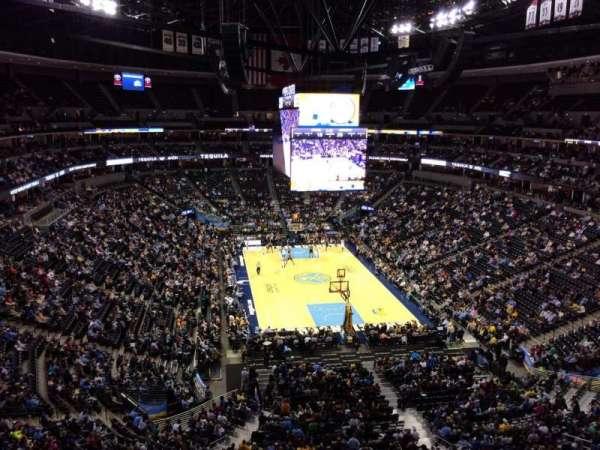 Pepsi Center, section: 364, row: 4, seat: 10