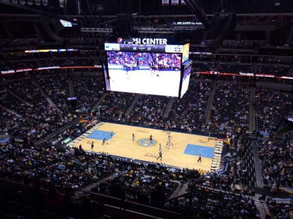Pepsi Center, section: 378, row: 12, seat: 15