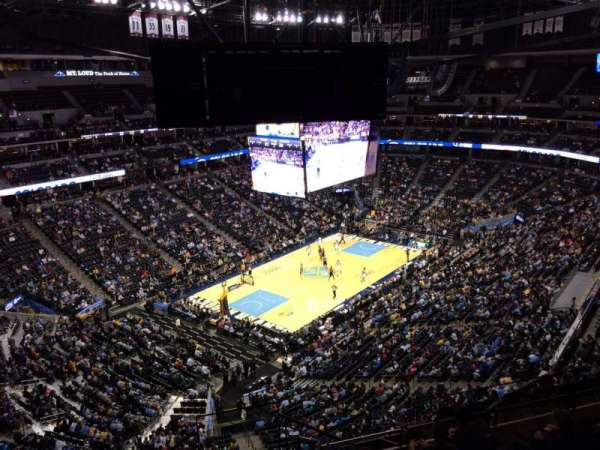 Pepsi Center, section: 314, row: 12, seat: 1