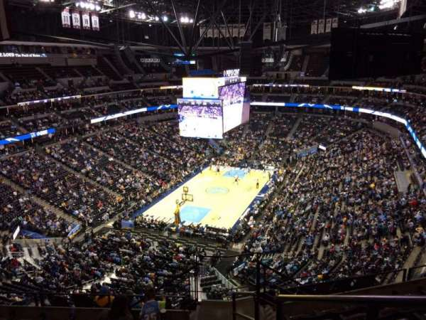 Pepsi Center, section: 318, row: 12, seat: 1