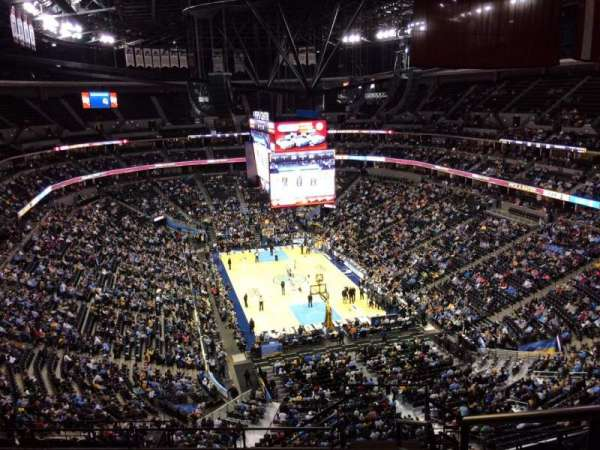 Pepsi Center, section: 326, row: 12, seat: 1