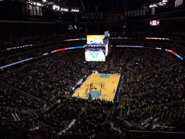 Pepsi Center, section: 360, row: 12, seat: 1