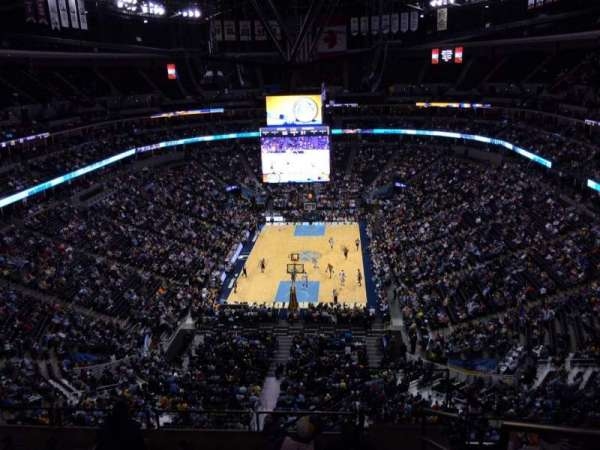 Pepsi Center, section: 362, row: 12, seat: 1