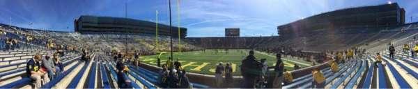 Michigan Stadium, section: 33, row: 6, seat: 9