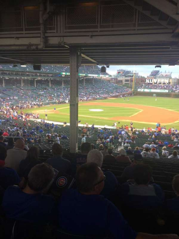 Wrigley Field, section: 226, row: 18, seat: 8