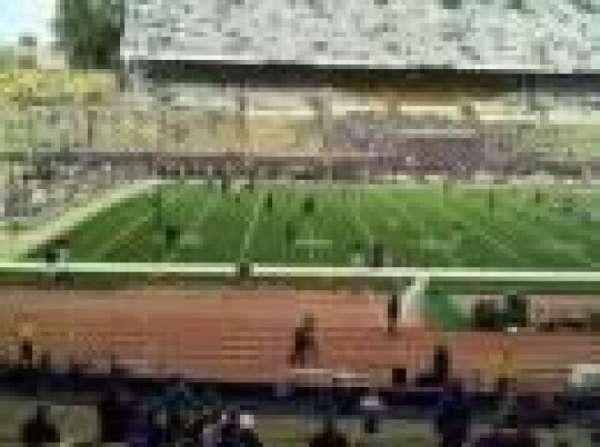 Old Husky Stadium, row: 20