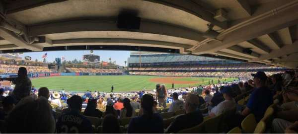 Dodger Stadium, section: 41FD, row: X, seat: 5