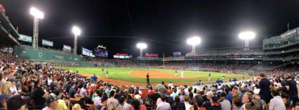 Fenway Park, section: Field Box 70, row: L, seat: 2