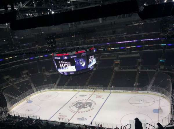 Staples Center, section: 333, row: 1, seat: 11