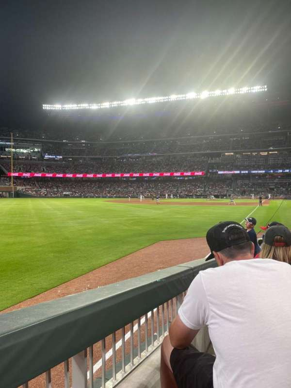 Truist Park, section: 42, row: 11, seat: 14