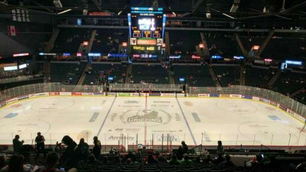 Van Andel Arena, section: 208, row: S, seat: 14