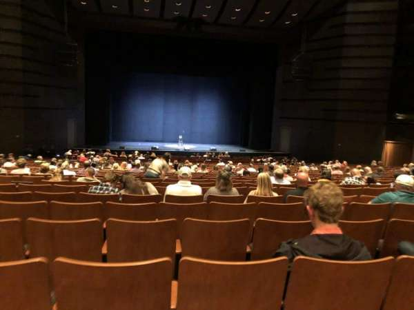Bass Concert Hall, section: O2, row: Y, seat: 121