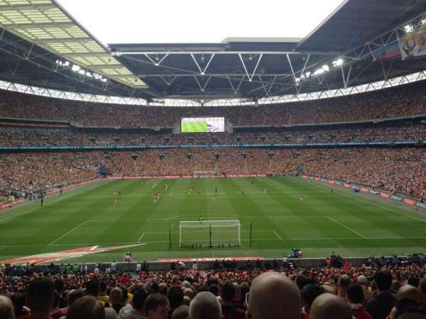 Wembley Stadium, section: 134, row: 43, seat: 1