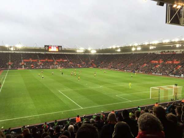 St Mary's Stadium, section: 45, row: Y, seat: 1181