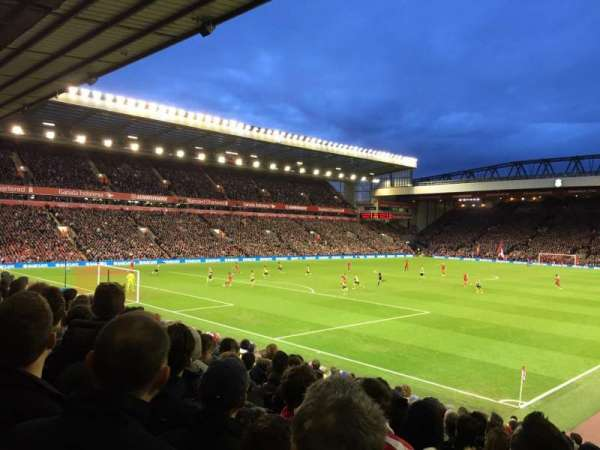 Anfield, section: 122, row: 22, seat: 0017