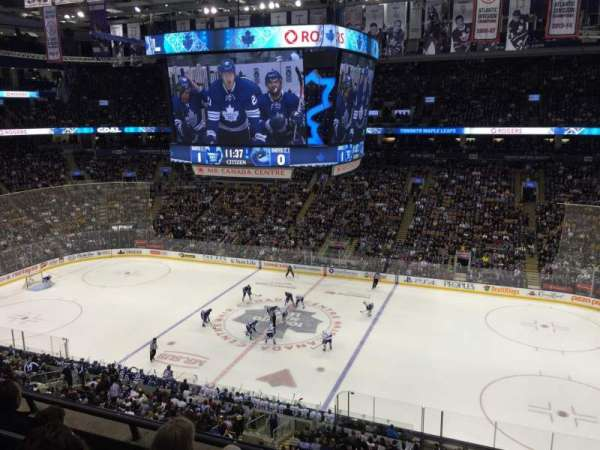 Scotiabank Arena, section: 320, row: 4, seat: 5