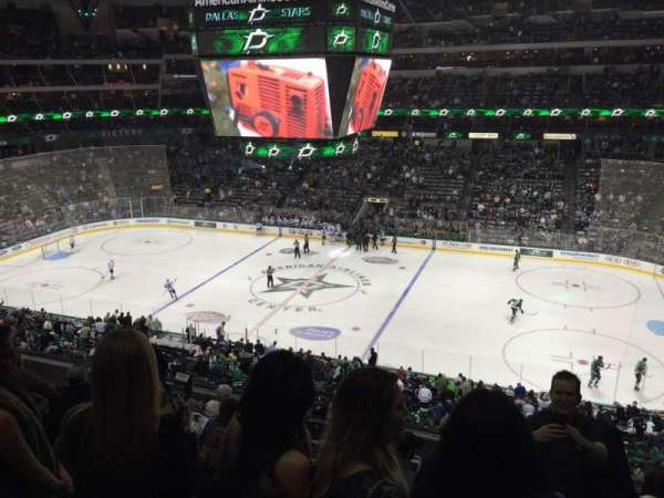 American Airlines Center, section: 208, row: H, seat: 3