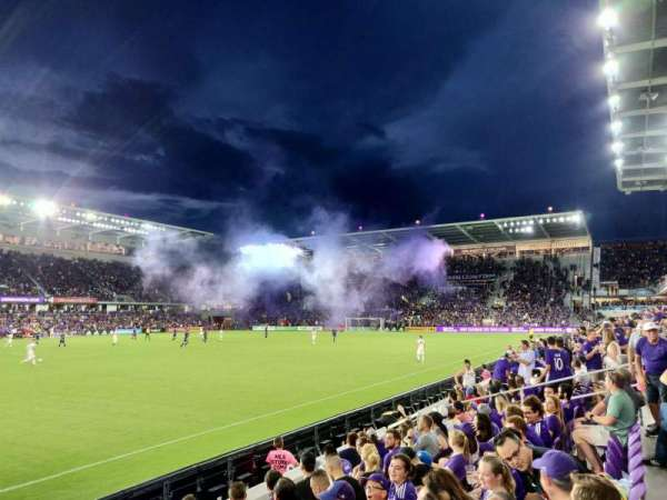 Exploria Stadium, section: 36, row: F, seat: 21