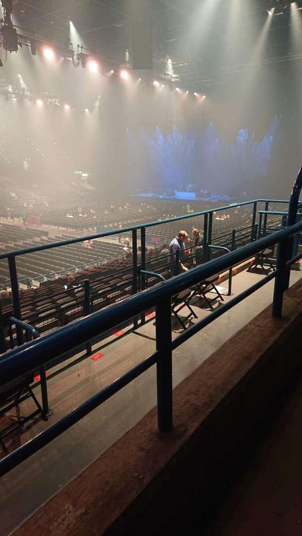 Utilita Arena, section: 3, row: AA, seat: 122