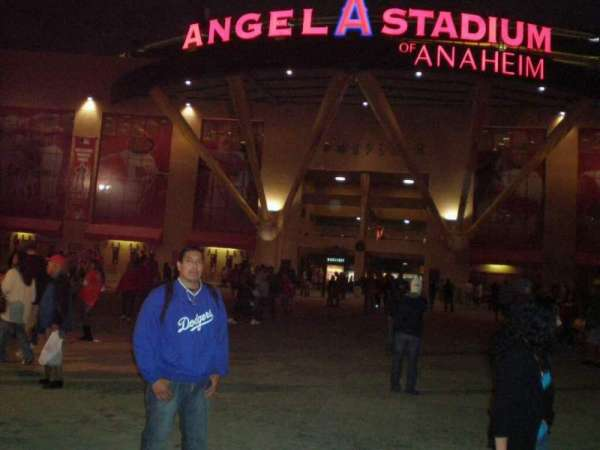Angel Stadium, section: Home Plate Gate
