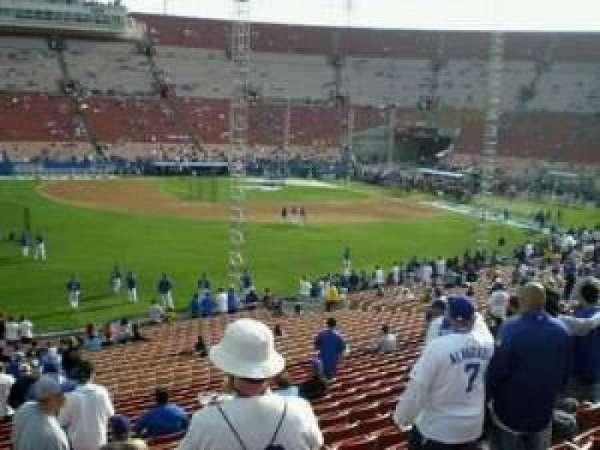 Los Angeles Memorial Coliseum, section: 226, row: 25