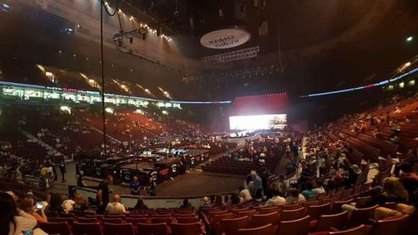 Rogers Arena, section: 111, row: 11, seat: 16
