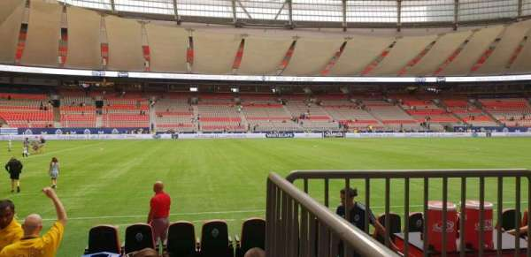 BC Place, section: 216, row: A, seat: 101
