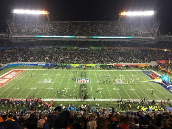 Camping World Stadium, section: 234, row: Q, seat: 12